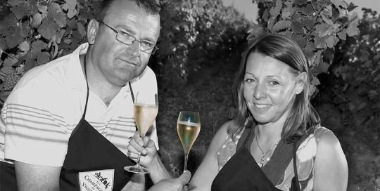 Champagne Trichet Lorain - Bruno et Céline Trichet